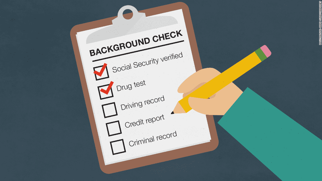 Tenant background check report